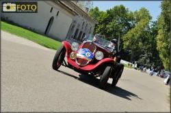 I vincitori del Gp Nuvolari 2012, Vesco e Guerini su Fiat 508s Balilla Sport