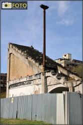 Uno spicchio di gradinata rimasto intatto allo Stadio Filadelfia, dove si potevano ammirare le gesta del Grande Torino