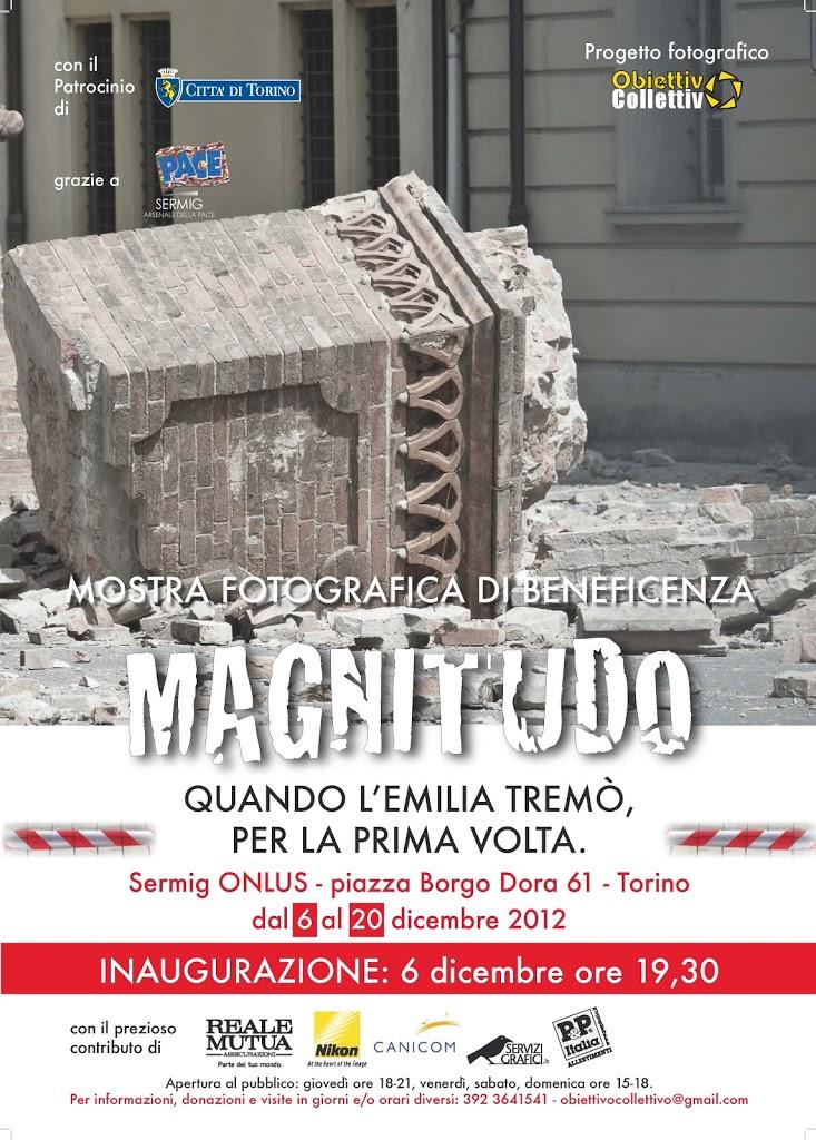 OkFoto e ObiettivOCollettivO insieme per beneficenza a favore dei terremotati dell'Emilia – Mostra fotografica