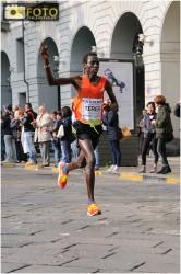 Il vincitore dell'edizione 2012 della Turin Marathon