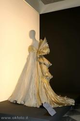 mostra delle creazioni di Roberto Capucci alla Venaria