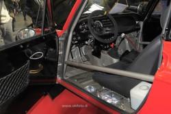 La Lancia Fulvia di Aghem - Fiorio che ha partecipato alla Pechino Parigi 2013