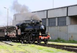 Deposito Smistamento di Torino: l'arrivo del treno a vapore