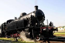 Treno a vapore al Deposito Smistamento