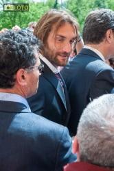 Il capitano del Toro Rolando Bianchi alla commemorazione della tragedia di Superga
