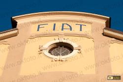 Il vecchio stabilimento FIAT di corso Dante