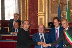 Elkann,Marchionne e il sindaco Fassino