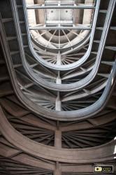 La rampa elicoidale dell'ex stabilimento FIAT a Torino