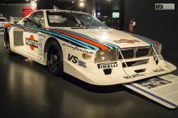 Un'automobile esposta al Museo dell'Auto di Torino