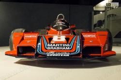 La Brabham di Formula Uno con i colori Martini