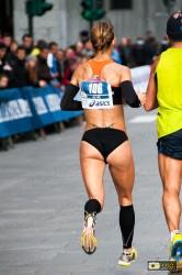 Monica Dasilva alla Turin Marathon