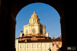 La cupola della chiesa di san Lorenzo a Torino