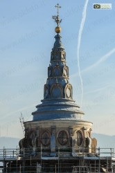 La cupola del Guarini, ora in restauro
