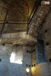 Una delle scale interne della Torre Campanaria