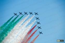 la pattuglia acrobatica italiana