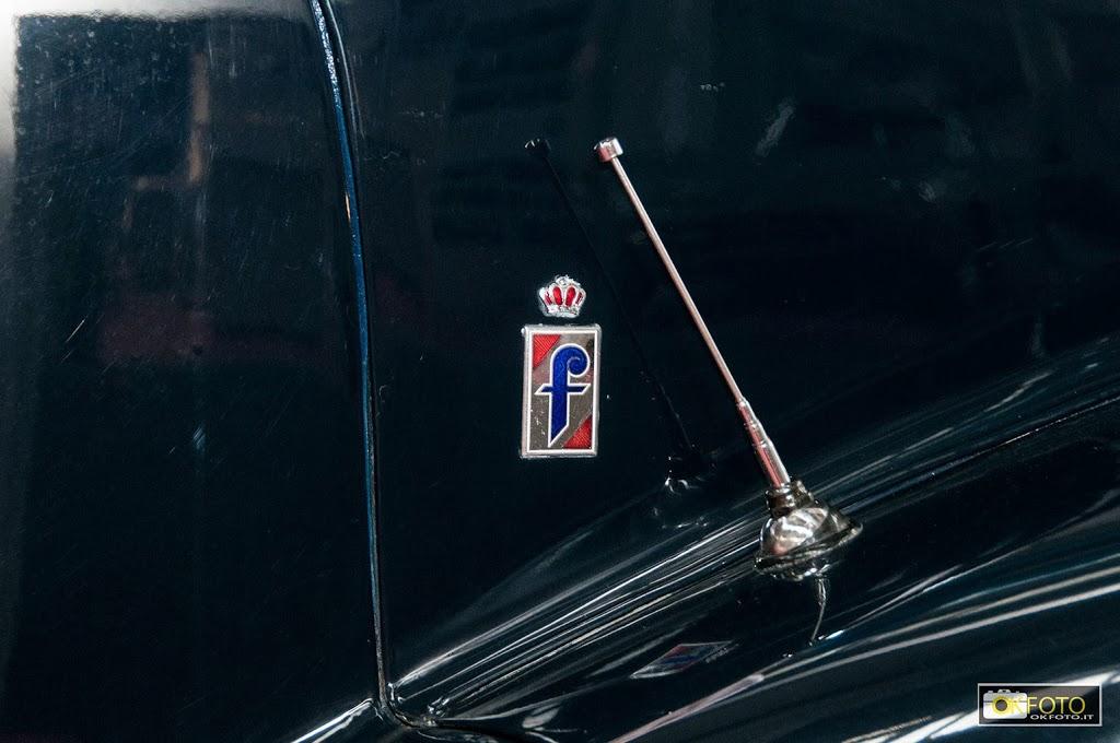Il famoso logo della carrozzeria Pininfarina