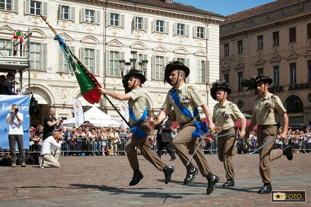 Torino, raduno Bersaglieri del 2011