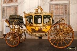 Berlina di gran gala del Granduca Ferdinando III di Lorena in mostra alla Venaria