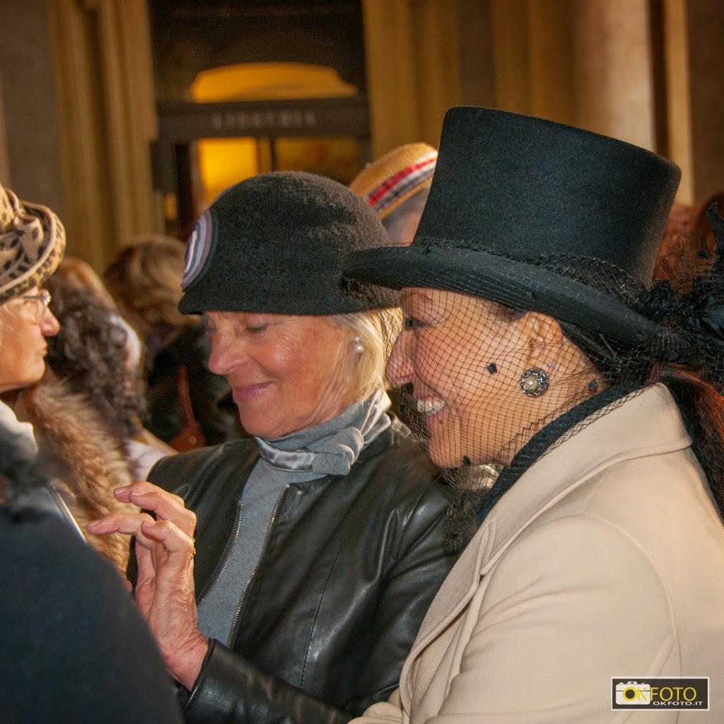 sorrisi e eleganza in occasione della inaugurazione della mostra a palazzo madama