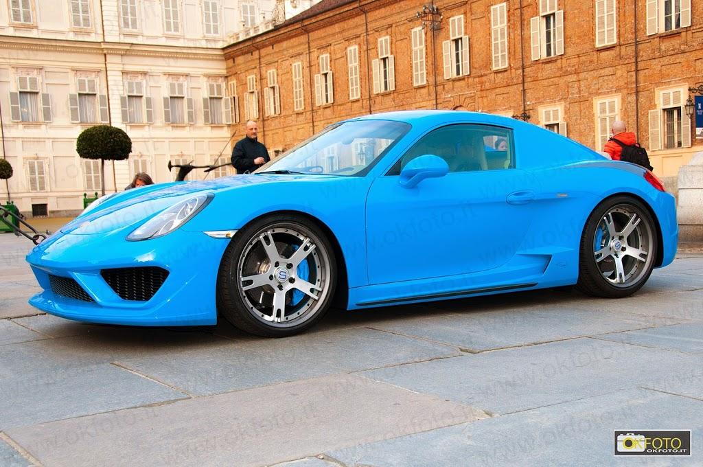 la fuoriserie basata sulla Porsche Cayman s