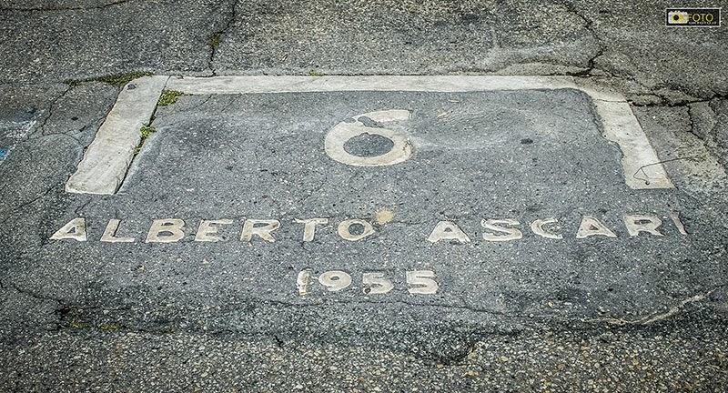 La partenza di Ascari al Gran Premio di Torino del 1955