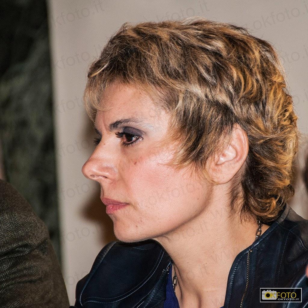 """Edith Gabrielli alla presentazione della mostra """"preraffaelliti, utopia della bellezza"""""""