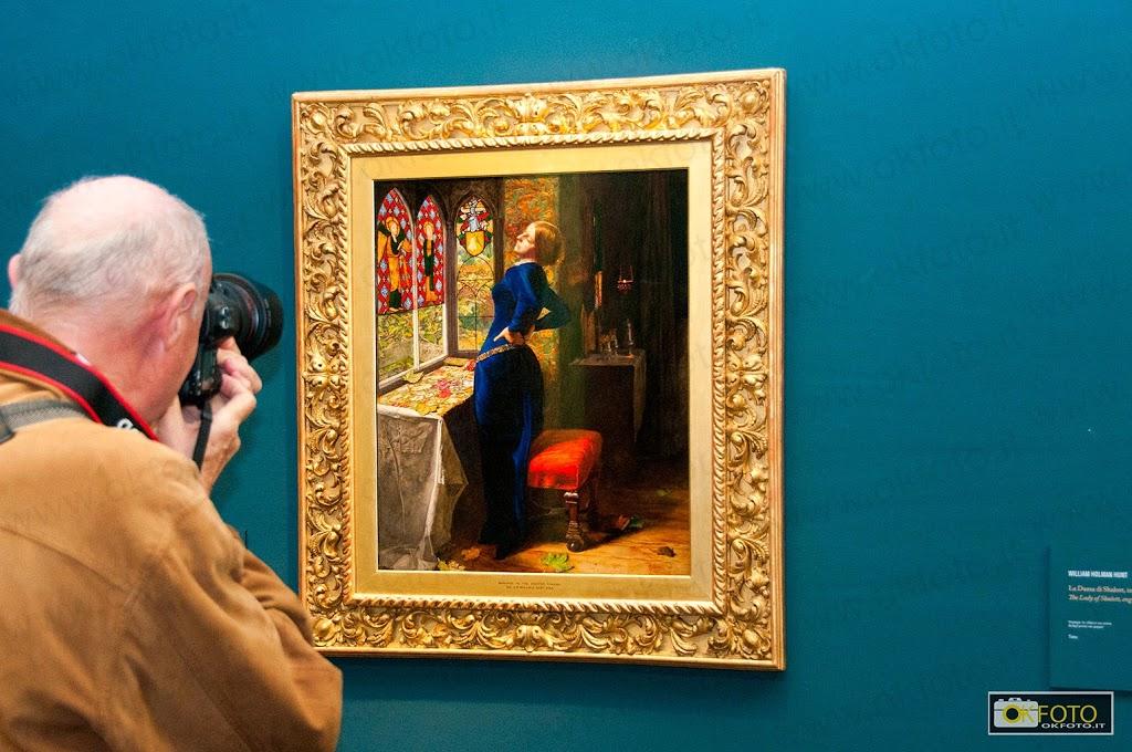 Un quadro in mostra a palazzo chiablese di Torino