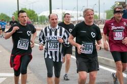 Alcuni partecipanti alla corsa precedente il derby di Torino