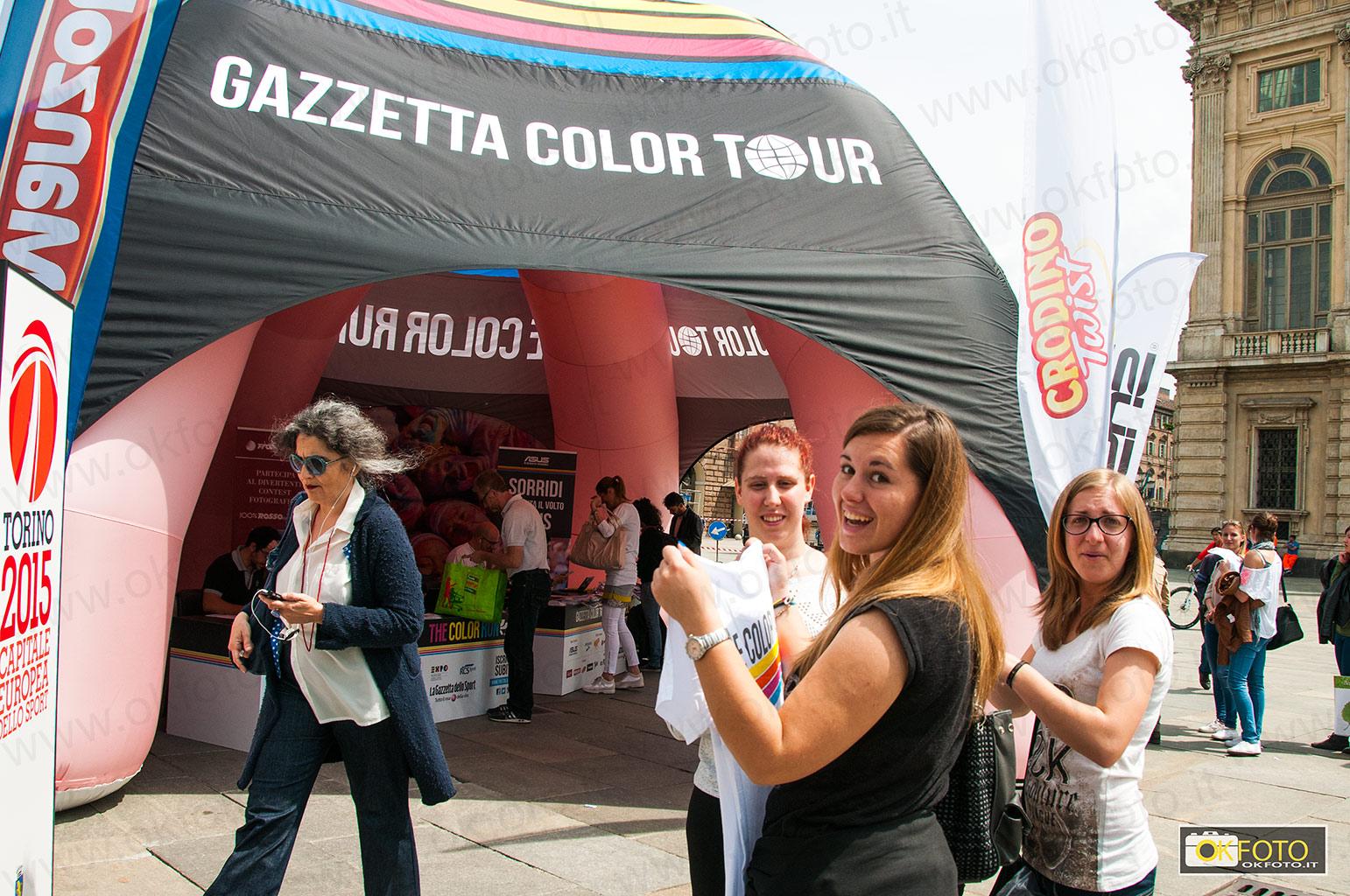 The Color Run, tutti colorati di corsa per le vie di Torino il prossimo 10 maggio