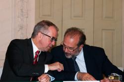 Maurizio Braccialarghe con Nuno Vassallo e Silva