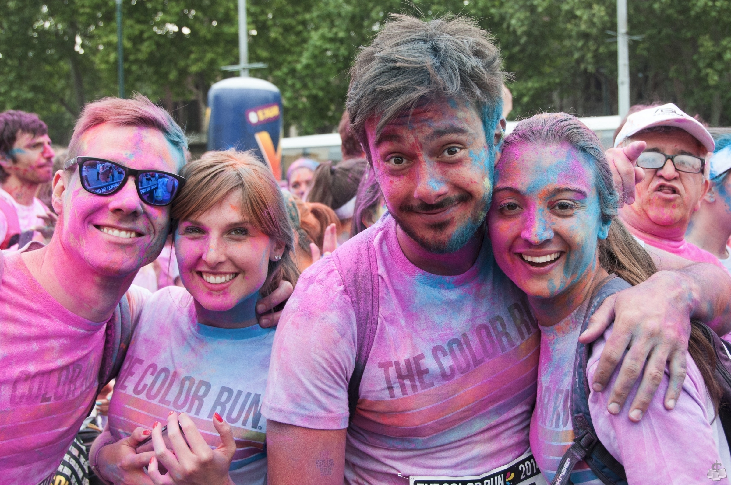 The Color Run, la corsa più felice e colorata per 9.000! Foto