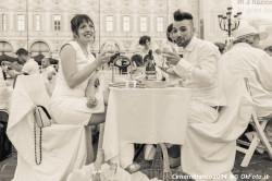 Brindisi alla Cena in Bianco 2014