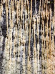 Nella Galleria di Capo Nero ci sono formazioni calcaree