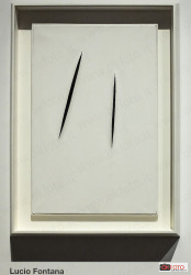 Attese, un'opera di Lucio Fontana