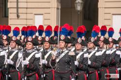 festeggiamenti per il bicentenario dell'Arma dei Carabinieri