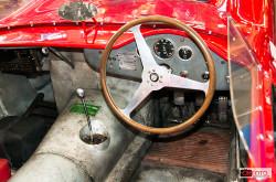Centenario Maserati, l'abitacolo della 200 SI