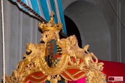 la corona del re sul Bucintoro