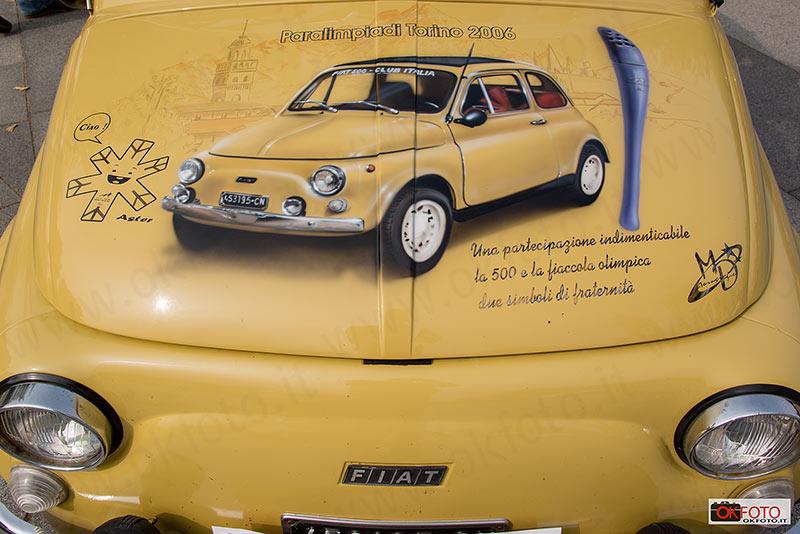 Fiat 500 paralimpiadi Torino