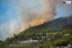 Incendio Bordighera