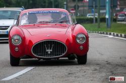 raduno Maserati, l'arrivo delle vetture a Torino