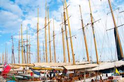 calata Anselmi: le barche all'ormeggio