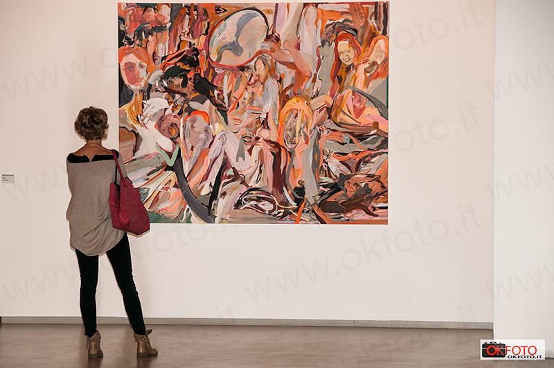 i dipinti di Cecily Brown in mostra alla GAM