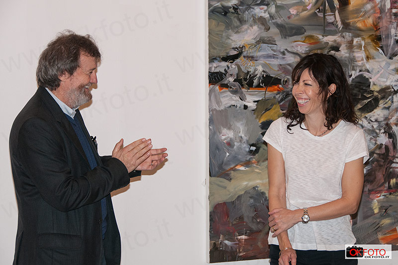 Danilo Eccher applaude Cecily Brown