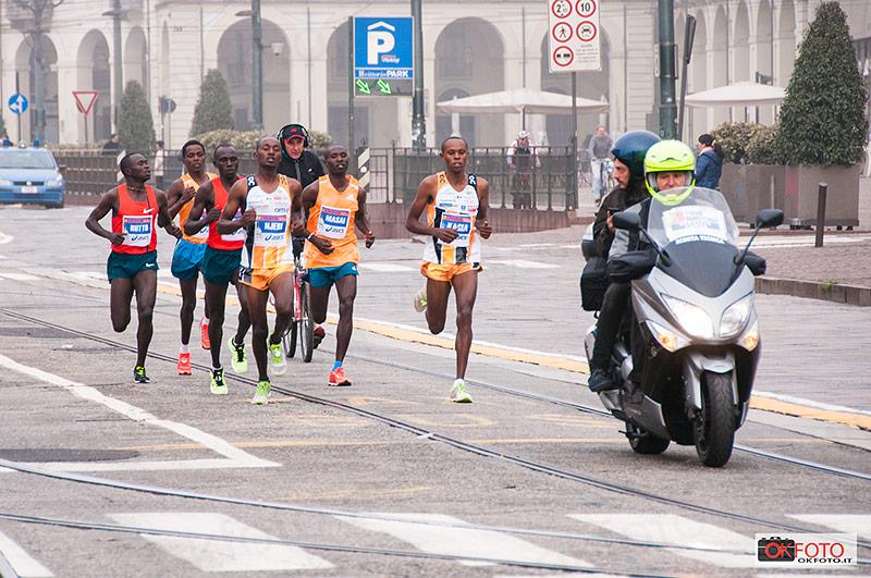 Turin marathon 2014, grande prova degli atleti keniani