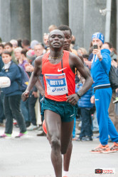 Samuel Rutto, vincitore della Turin Marathon 2014
