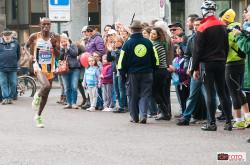 Il keniano Kagia alla Turin Marathon 2014