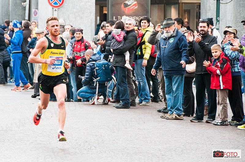 Andrea Lalli alla Turin Marathon 2014