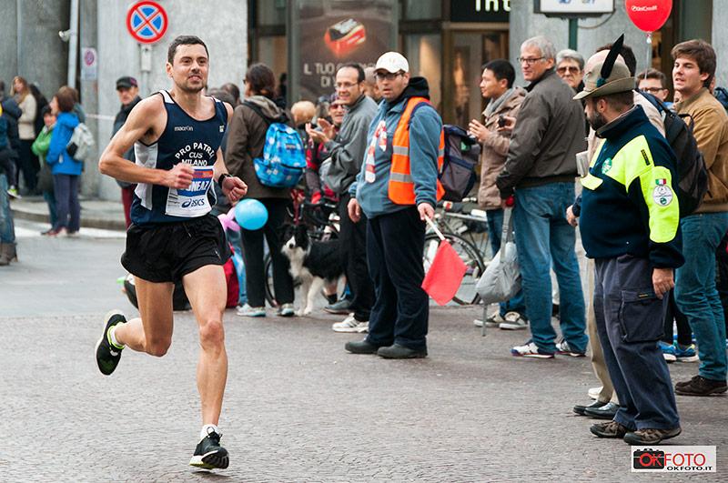 Renè Cuneaz alla Turin Marathon 2014