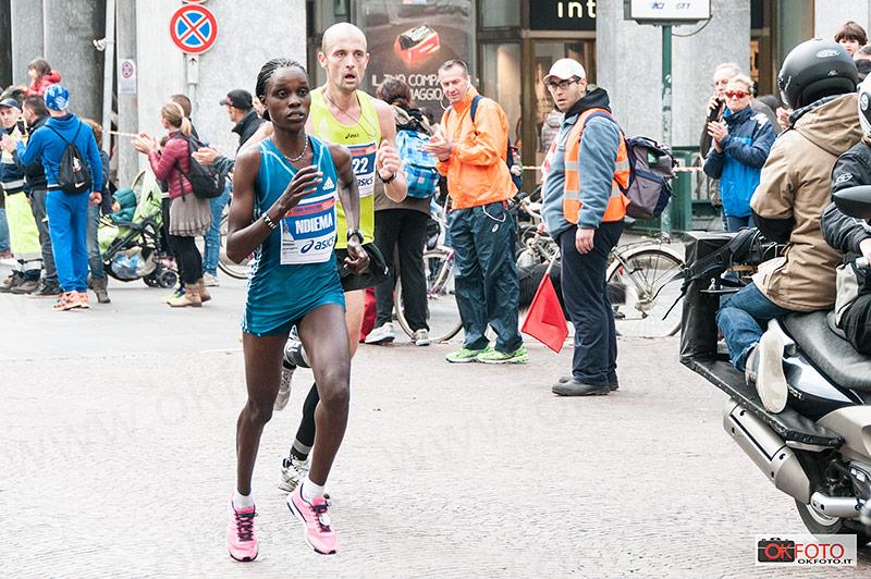 Esther Ndiema vincitrice della gara femminile