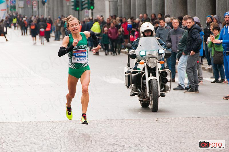 Deborah Toniolo alla Turin Marathon 2014